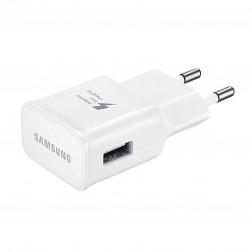 """""""Samsung"""" Adaptive Fast Charging tīkla lādētājs - balts (2000 mA / 1670 mA) + micro USB vads (1,5 m)"""