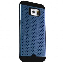 """""""Bubble"""" pastiprinātas aizsardzības apvalks - zils (Galaxy S6)"""