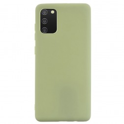 """Shell"" cieta silikona (TPU) apvalks - zaļš (Galaxy A02s)"