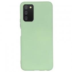 """Shell"" cieta silikona (TPU) apvalks - zaļš (Galaxy A03s)"