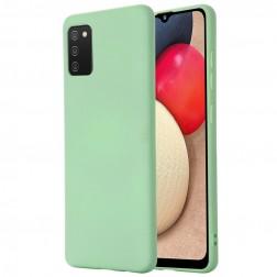 """""""Shell"""" cieta silikona (TPU) apvalks - zaļš (Galaxy M02s)"""