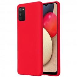 """""""Shell"""" cieta silikona (TPU) apvalks - sarkans (Galaxy M02s)"""