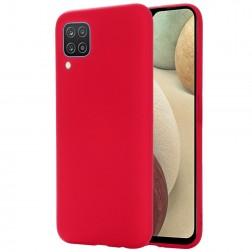 """Shell"" cieta silikona (TPU) apvalks - sarkans (Galaxy A12)"