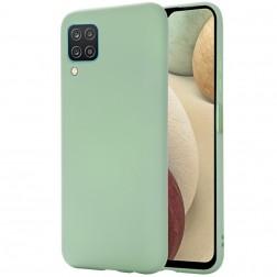 """Shell"" cieta silikona (TPU) apvalks - zaļš (Galaxy A12)"