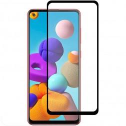 """Rurihai"" Tempered Glass ekrāna aizsargstikls 0.26 mm - melns (Galaxy A21s)"