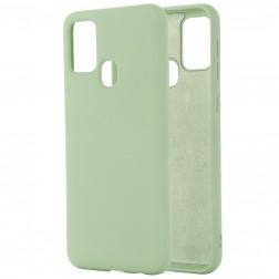 """Shell"" cieta silikona (TPU) apvalks - zaļš (Galaxy A21s)"