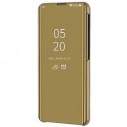 Plastmasas atvērams maciņš - zelta (Galaxy A22 5G)