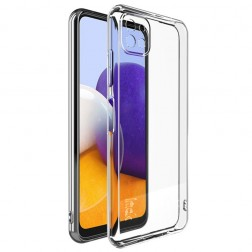 """""""Imak"""" cieta silikona (TPU) apvalks - dzidrs (Galaxy A22 5G)"""