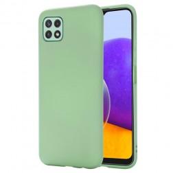 """Shell"" cieta silikona (TPU) apvalks - zaļš (Galaxy A22 5G)"