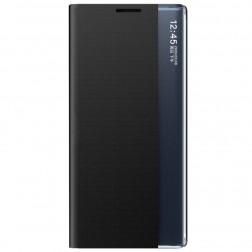 """""""View Line"""" atvērams maciņš - melns (Galaxy A22 5G)"""
