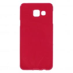 Cieta silikona (TPU) apvalks - sarkans (Galaxy A3 2016)