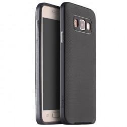"""IPAKY"" cieta silikona (TPU) apvalks - melns / pelēks (Galaxy A3 2015)"
