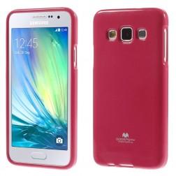 """""""Mercury"""" apvalks - tumši rozs (Galaxy A3 2015)"""