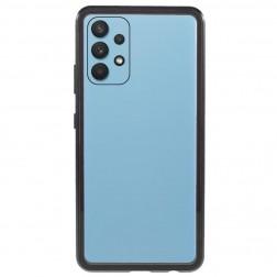 """""""Frame"""" magnētiskais pilnīgi aizsedzams apvalks - dzidrs (Galaxy A32 4G)"""
