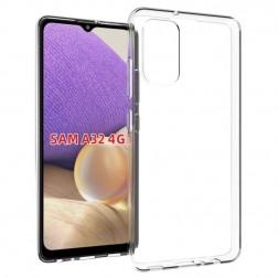 Cieta silikona (TPU) apvalks - dzidrs (Galaxy A32 4G)