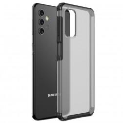 """""""Armor"""" apvalks - matēts apmales melnā krāsā (Galaxy A32 5G)"""