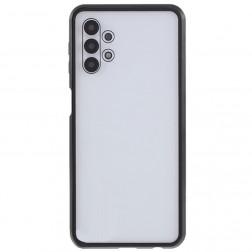 """""""Frame"""" magnētiskais pilnīgi aizsedzams apvalks - dzidrs (Galaxy A32 5G)"""