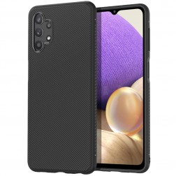 """""""Jazz"""" cieta silikona (TPU) apvalks - melns (Galaxy A32 5G)"""