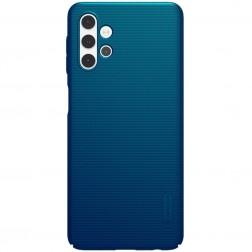 """Nillkin"" Frosted Shield apvalks - zils (Galaxy A32 5G)"