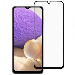 """Rurihai"" Tempered Glass ekrāna aizsargstikls 0.26 mm - melns (Galaxy A32 4G)"