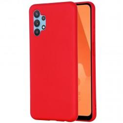 """Shell"" cieta silikona (TPU) apvalks - sarkans (Galaxy A32 5G)"