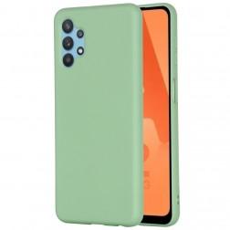 """Shell"" cieta silikona (TPU) apvalks - zaļš (Galaxy A32 5G)"