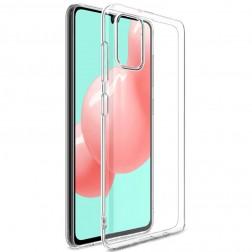 Cieta silikona (TPU) apvalks - dzidrs (Galaxy A41)