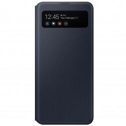 """Samsung"" S View Wallet Cover atvērams maciņš - melns (Galaxy A41)"