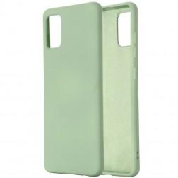 """Shell"" cieta silikona (TPU) apvalks - zaļš (Galaxy A41)"