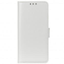Atvēramais maciņš - balts (Galaxy A42 5G)