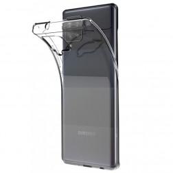 Cieta silikona (TPU) apvalks - dzidrs (Galaxy A42 5G)