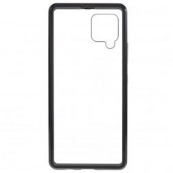 """""""Frame"""" magnētiskais pilnīgi aizsedzams apvalks - dzidrs (Galaxy A42 5G)"""
