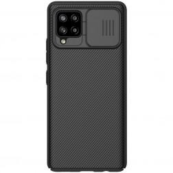 """""""Nillkin"""" CamShield apvalks - melns (Galaxy A42 5G)"""