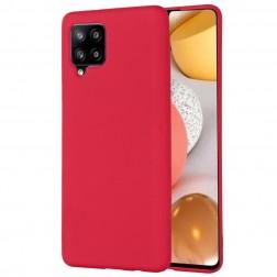 """Shell"" cieta silikona (TPU) apvalks - sarkans (Galaxy A42 5G)"