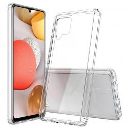 Cieta silikona (TPU) akrils apvalks - dzidrs (Galaxy A42 5G)