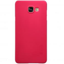 """""""Nillkin"""" Frosted Shield apvalks - sarkans + ekrāna aizsargplēve (Xperia M4 Aqua)"""