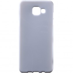 Cieta silikona (TPU) apvalks - balts (Galaxy A5 2016)