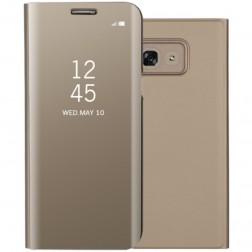 Plastmasas atvērams maciņš - zelta (Galaxy A5 2017)