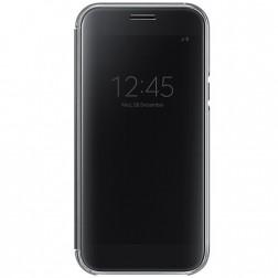 """Samsung"" Clear View Cover atvērams maciņš - melns (Galaxy A5 2017)"
