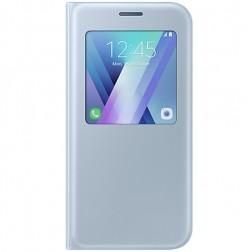 """""""Samsung"""" S View Cover atvērams maciņš - gaiši zils (Galaxy A5 2017)"""