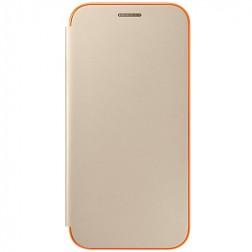 """""""Samsung"""" Neon Flip Cover atvērams maciņš - zelta (Galaxy A5 2017)"""