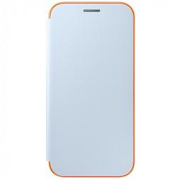 """""""Samsung"""" Neon Flip Cover atvērams maciņš - gaiši zils (Galaxy A5 2017)"""