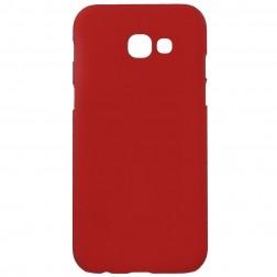 Plastmasas futrālis - sarkans (Galaxy A5 2017)