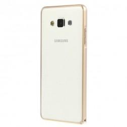 Stilīgs rāmis (bamperis) - zelta (Galaxy A5 2015)