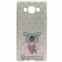 """Bear"" cieta silikona (TPU) apvalks - dažādas (Galaxy A5 2015)"