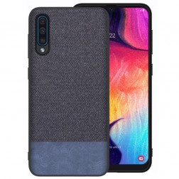 """Fashion"" cieta silikona (TPU) apvalks - zils (Galaxy A50)"
