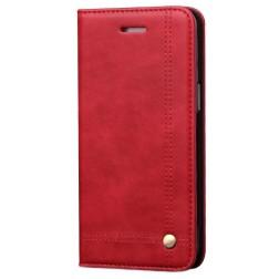"""Deluxe"" atvēramais maciņš - sarkans (Galaxy A50 / A50s / A30s)"