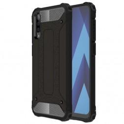 Pastiprinātas aizsardzības apvalks - melns (Galaxy A50)