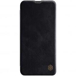 """Nillkin"" Qin atvēramais maciņš - melns (Galaxy A50)"