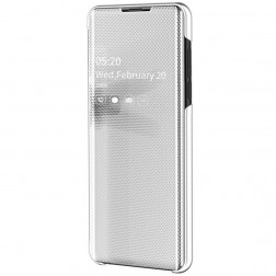 Plastmasas atvērams maciņš - sudrabs (Galaxy A50 / A50s / A30s)